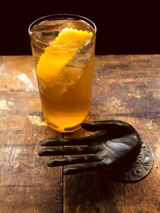drink CHEEKY SMILE di Gregory Camillo' del Jerry Thomas Speakeasy di Roma